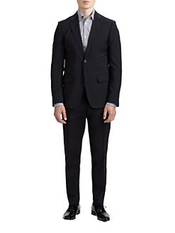 DSQUARED - Two-Button Wool Suit