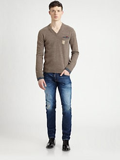 DSQUARED - V-Neck Sweater