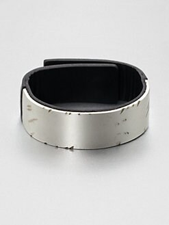 Maison Martin Margiela - Leather & Metal Cuff Bracelet