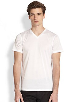 Jil Sander - Cotton V-Neck Tee
