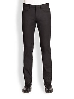 Jil Sander - Wool & Cashmere Five-Pocket Trousers