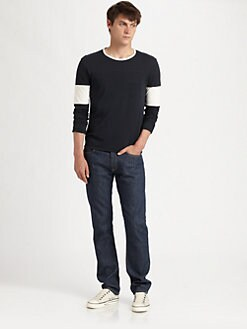 Band of Outsiders - Five-Pocket Denim Jeans