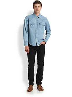 Band of Outsiders - Denim Western Shirt