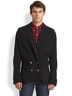 Band of Outsiders - Boiled Wool Blazer