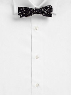 Band of Outsiders - Horseshoe-Print Bow Tie