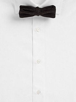 Band of Outsiders - Medium Donegal Bow Tie
