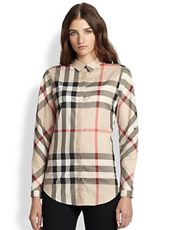 Burberry Brit - Slim-Fit Check Shirt