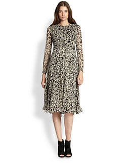 Burberry Brit - Tabatha Pleated Dress
