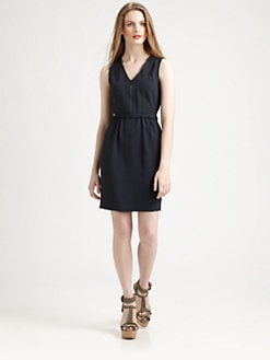 Burberry Brit - Sleeveless Zip-Front Dress