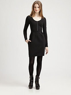 Burberry Brit - Scoopneck Jersey Dress