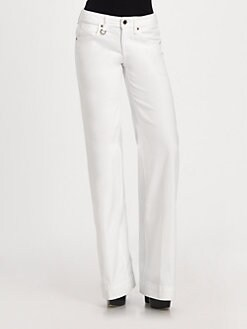 Burberry Brit - Fabulous Flared-Leg Jeans