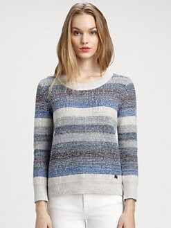Burberry Brit - Striped Thermal Sweater