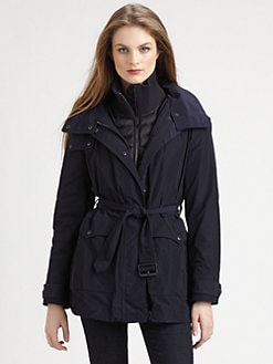 Burberry Brit - Quilted-Warmer Jacket