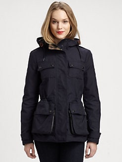 Burberry Brit - Hooded Utility Jacket