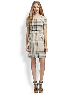 Burberry Brit - Check Trench Dress