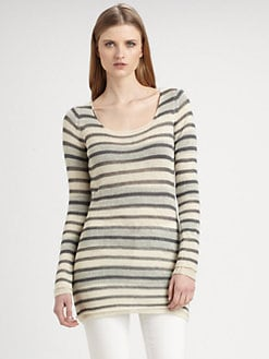 Burberry Brit - Alpaca Striped Sweater