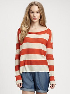 Burberry Brit - Alpaca Nautical Stripe Sweater