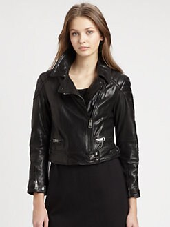 Burberry Brit - Leather Ashleigh Jacket