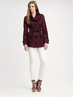 Burberry Brit - Crombridge Check Trenchcoat