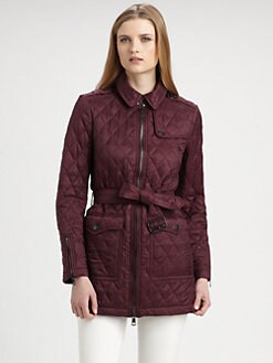Burberry Brit - Topstead Belted Jacket