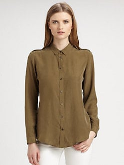 Burberry Brit - Washed Silk Blouse