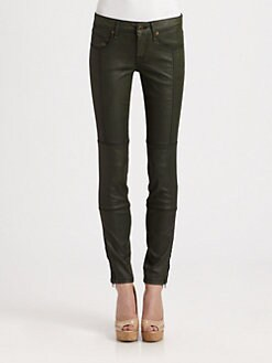 Burberry Brit - Mid-Rise Straight-Leg Jeans