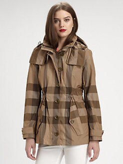 Burberry Brit - Kerrington Check-Print Coat