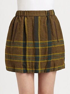 Burberry Brit - Linen Check Skirt