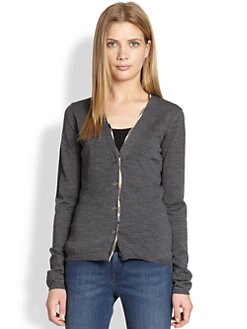Burberry Brit - Mcoul Merino Wool Cardigan