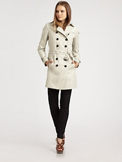 Burberry Brit - Belted Trenchcoat