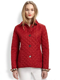 Burberry Brit - Quilted Trench Jacket