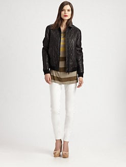 Burberry Brit - Eastburn Leather Jacket