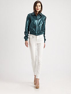 Burberry Brit - Statonbury Leather Jacket