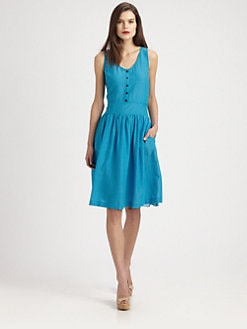 Burberry Brit - Halette Silk/Cotton Dress