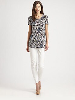 Burberry Brit - Floral-Print T-Shirt