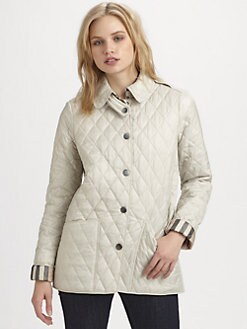 Burberry Brit - Lightweight Quilted Coat