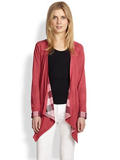 Burberry Brit - Reversible Open-Front Cardigan