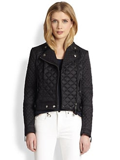 Burberry Brit - Oakcliffe Quilted Moto Jacket