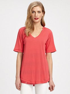 Burberry Brit - Modal V-Neck Tee