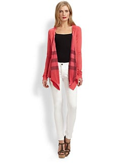 Burberry Brit - Modal Open-Front Cardigan