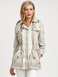 Burberry Brit - Check Rain Jacket