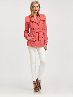 Burberry Brit - Steynton Short Trenchcoat