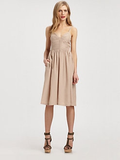 Burberry Brit - Cotton/Silk Pascale Dress