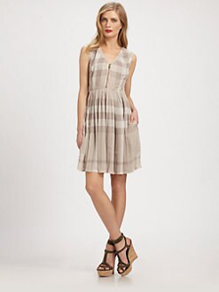 Burberry Brit - Silk Tabea Dress