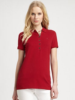 Burberry Brit - Embroidered Polo Shirt