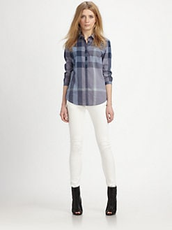 Burberry Brit - Check Button-Down Shirt