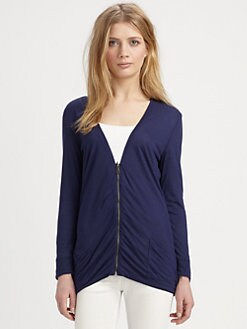 Burberry Brit - Reversible Zip Cardigan
