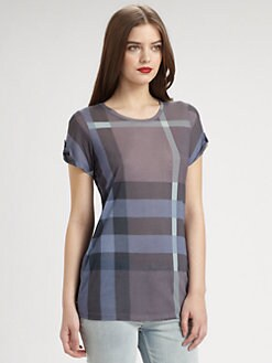Burberry Brit - Check Top