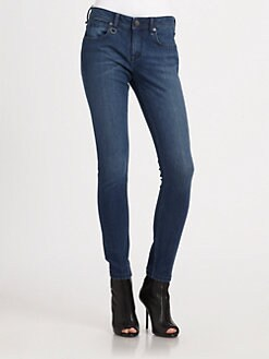 Burberry Brit - Skinny Cropped Jeans