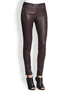 Burberry Brit - Clipstone Leather Leggings